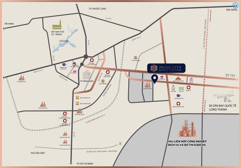 Mua bán bất động sản giá rẻ tại Đường DT 753, Đồng Phú, Bình Phước.